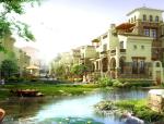 [山东]县城核心区快规划方案设计