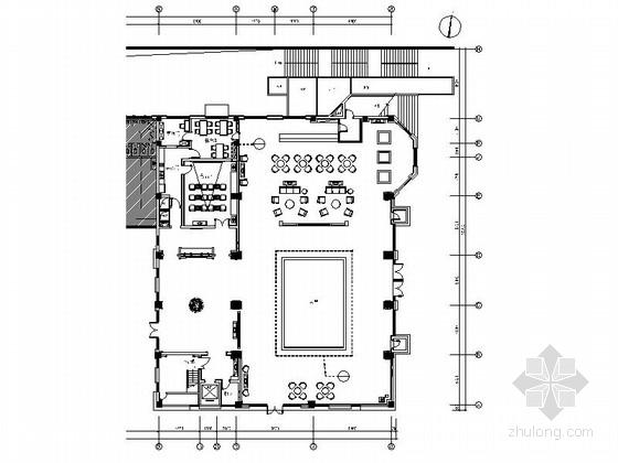[浙江]50个亿精品别墅区现代风格售楼处室内装修设计施工图