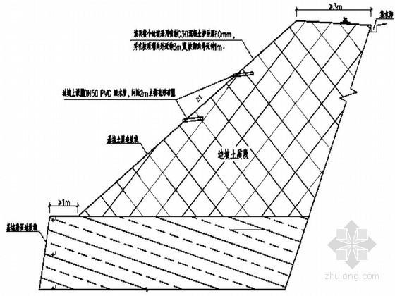 [重庆]安置房基坑支护及信息化监测施工方案(CAD图)