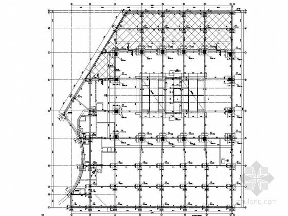 38层钢骨柱-框架核心筒结构办公楼结构施工图(多种基础结构 155米)