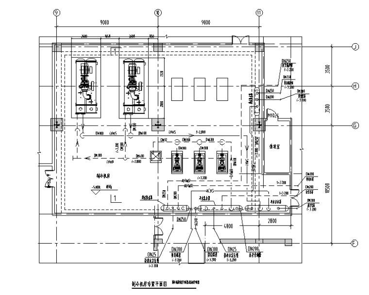 VRV暖通设计及计算书资料下载-浙江超高层暖通全套施工图(人防、计算书)