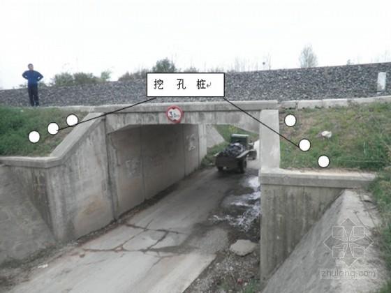 [江苏]既有铁路人工挖孔桩防护接长框架涵施工方案