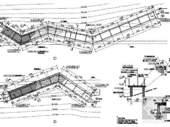 免费分享!几个典型的木栈道施工图