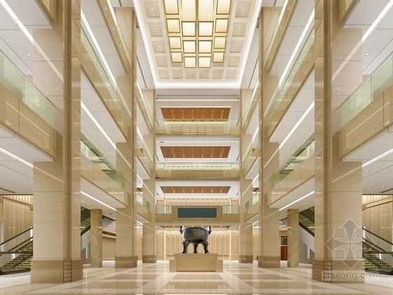 [宁波]市行政审批管理中心现代会议中心室内设计方案