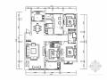 现代三居室家庭装修施工图(含效果图)