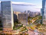 尼塔对南京栖霞商务区二期的景观规划