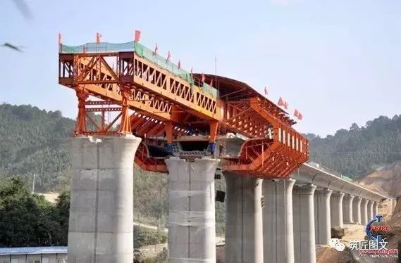 移动模架法施工桥梁