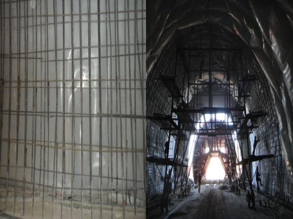 二衬拱墙混凝土施工总监首件制成果书