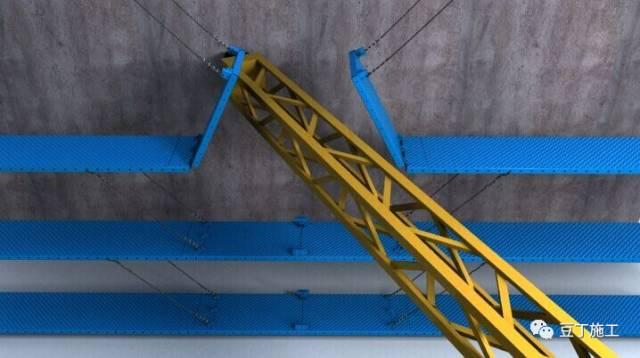一种新型全钢式升降脚手架,在这里施工就像在室内施工一样_59