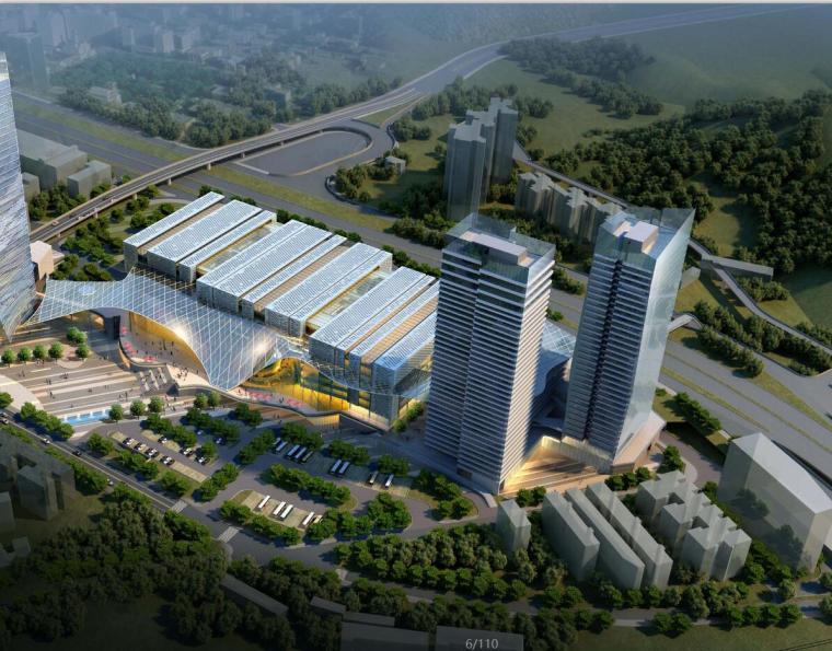 [广东]某城市现代风格综合体建筑方案文本(包含PDF+CAD+150页)