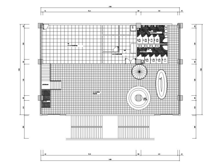 [浙江]某现代餐厅室内装修施工图(含效果图)