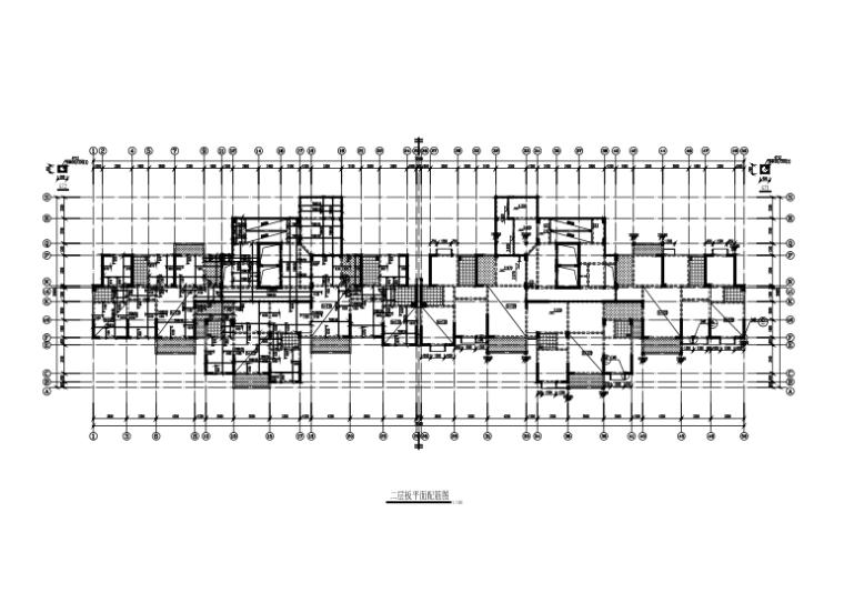 [湖北]地下1层地上21层框剪结构住宅楼结构施工图(CAD、28张)