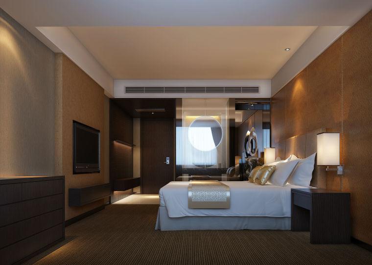 新毫酒店--单标房角度一