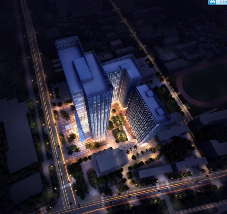 [武汉]保利高层住宅及超高层办公楼建筑方案文本(两套方案)_1