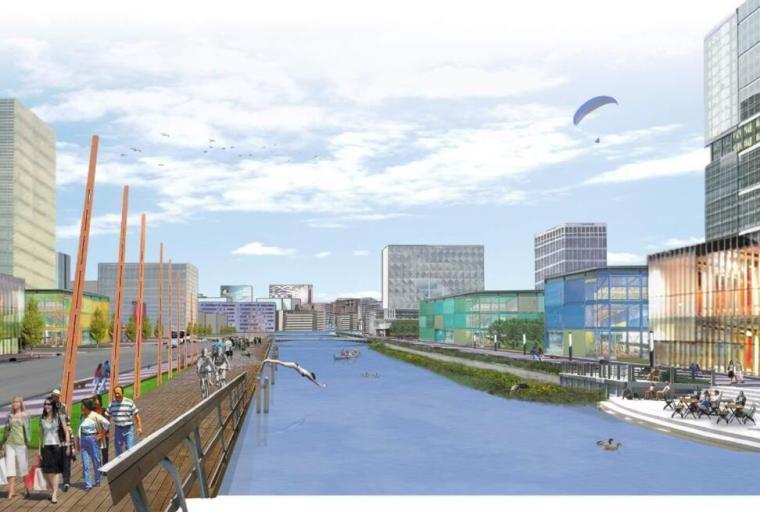 [福建]晋江城东环湾片区城市规划设计(滨海现代化新城)