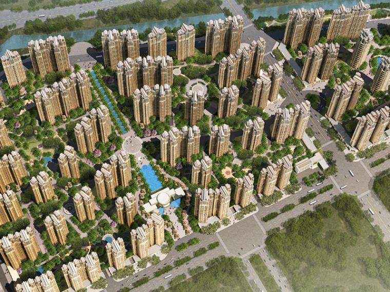 [上海]保利中山港口镇住宅规划设计方案文本