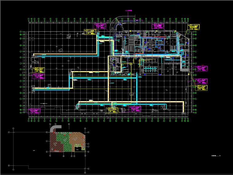 地下干线平面图