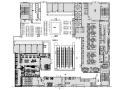 [新疆]753平米现代简洁餐饮空间设计施工图(附效果图)