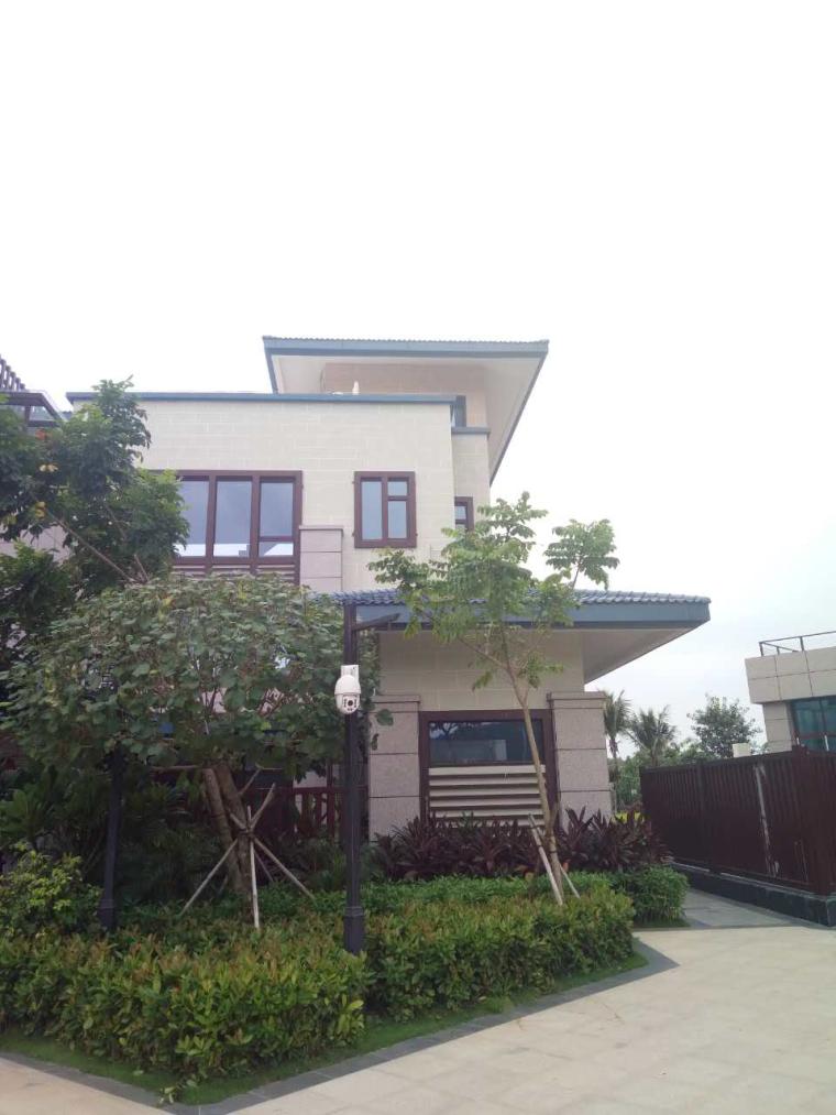 无檐沟坡屋面铝扣板线条檐口施工工法