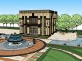 11套ARTDECO风格-售楼处建筑su模型(06-11套)