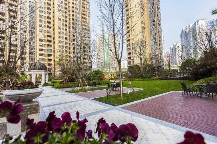 上海中海万锦城三期ArtDeco风格居住区景观设计_6