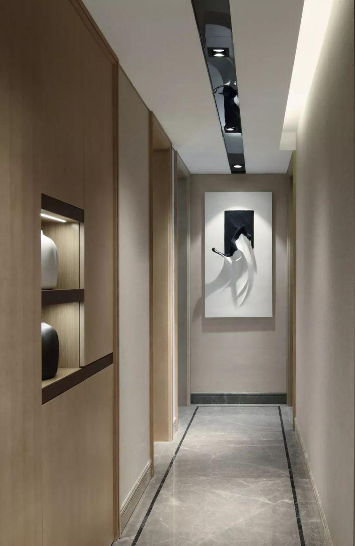 看看这两套样板房设计,用黑白灰勾勒出的简约风_38