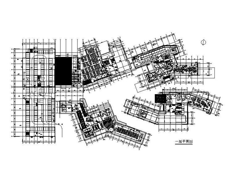 [浙江]某公司总部大楼室内设计CAD施工图