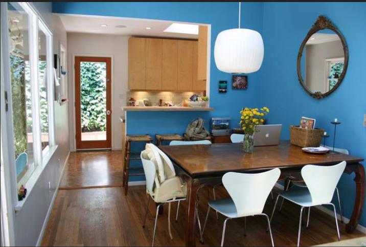 自然原木风情浓郁简约风格一居室实景图