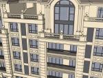 法式风格住宅建筑设计模型
