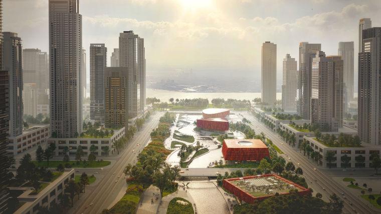 杭州亚运会运动员村国际区