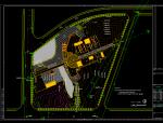 28000平方米景德镇陶瓷博物馆平面方案图