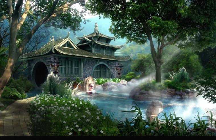 农旅景观:贵州云溪谷设计图_13