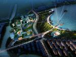 """[浙江]""""一轴一湖""""城市设计之滨海环湖设计方案"""