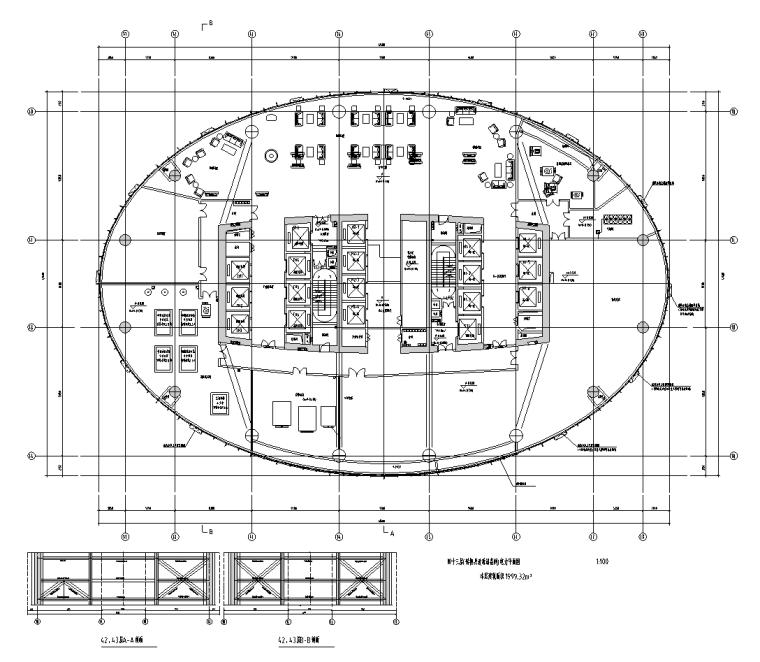 广西超高层国际金融中心机电设备施工图