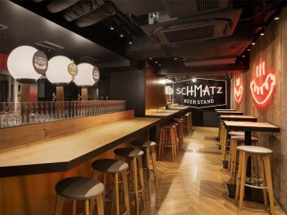 日本集装箱改造的啤酒吧