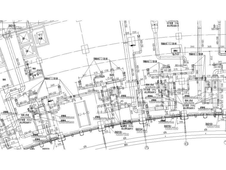 [乌兰察布]医院暖通施工图-(大院出品,含制冷机房详细设计图)