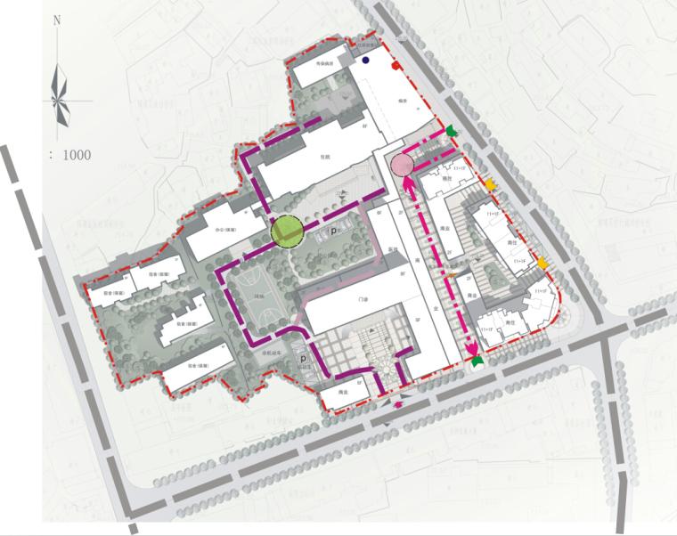 [湖南]高层现代风格常规项人民医院建筑设计方案文本(CAD+文本)_5
