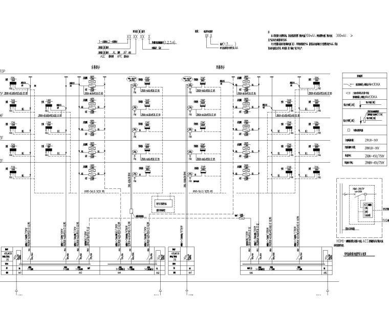 [上海]业务处理三号楼及后勤服务中心电气施工图
