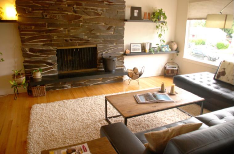 现代时尚一居室精致优雅生活室内装修设计实景图