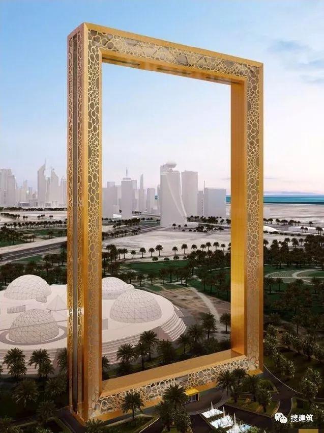 """土豪迪拜又来了!!花3亿建个""""大相框"""",却惨遭设计师起诉!"""