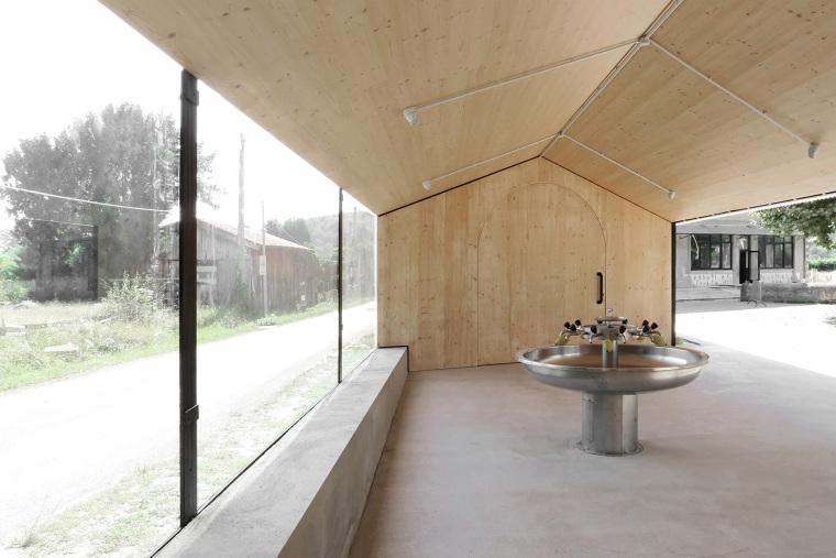 法国简洁木结构的学校食堂扩建-8
