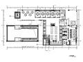 万象城某混搭风格餐厅设计CAD施工图(含效果图)