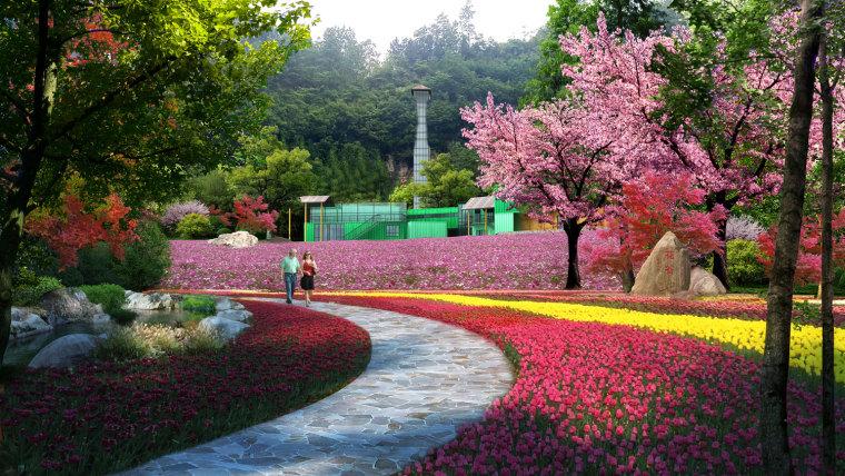 农旅景观:贵州云溪谷设计图_6