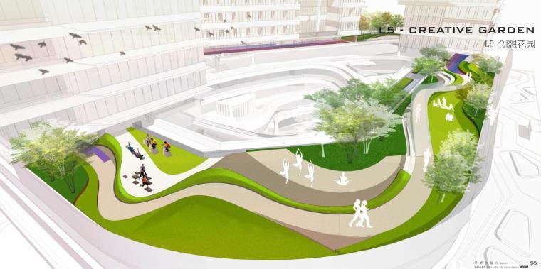 最新-创智谷项目景观资料方案文本设计pfd(70页)_2