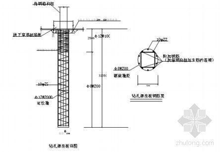 杭州某住宅小区塔机专项施工方案(QT60、四桩格构式)