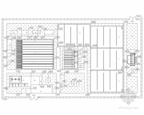 某水厂和附属设施设计图纸(毕业设计)