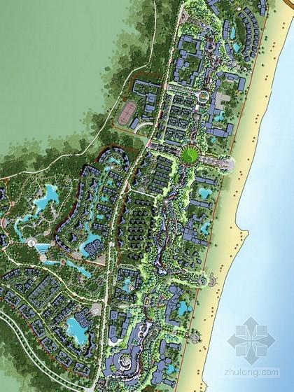 [海南]滨水长廊景观概念设计方案