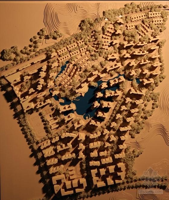现代风格高层住宅区规划效果图
