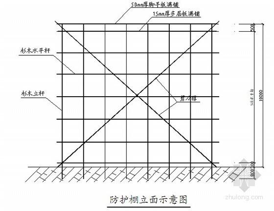 河北省某住宅小区安全防护施工方案
