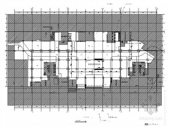 [广东]全国连锁百货商场空间室内CAD施工图(含效果图)